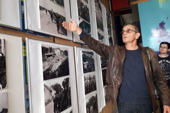 TEHNIČKA ŠKOLA Izložba ratnih fotografija iz Domovinskog rata