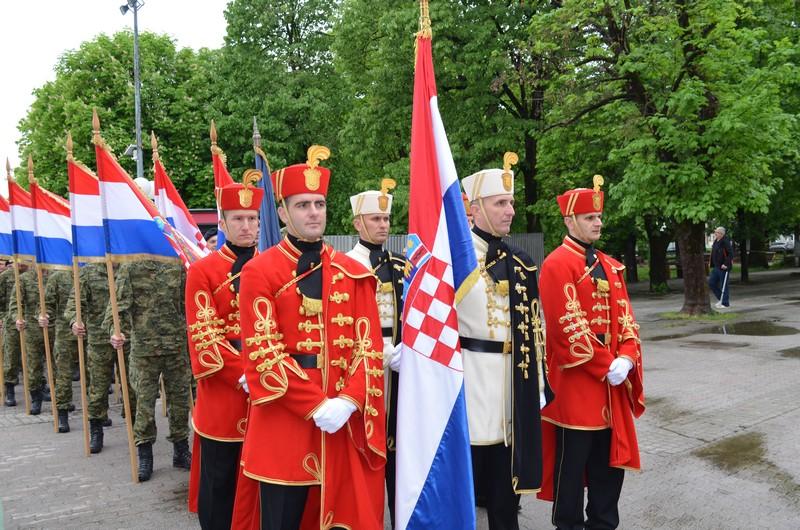"""Obilježena 26. obljetnica osnutka 3. gardijske brigade """"Kune"""""""