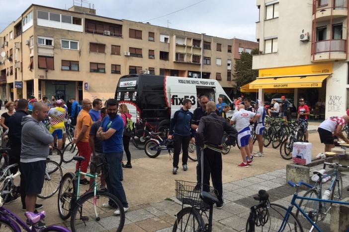 Biciklisti humanisti pomažu u liječenju teško oboljelog Andreja Bergera