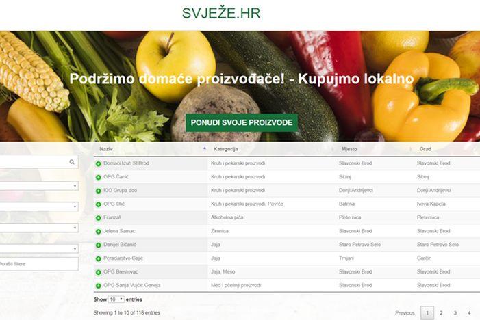 Brodska udruga Connect IT pokrenula online tržnicu - Svježe.hr