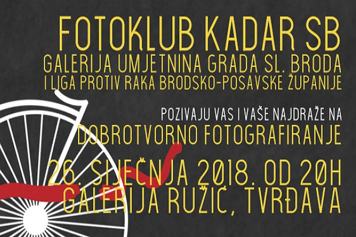 Fotoklub Kadar SB provodi još jedno portretno fotografiranje građana
