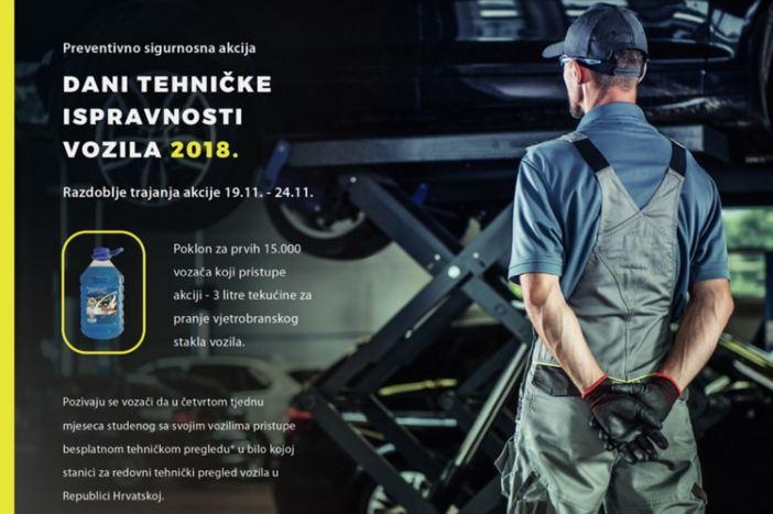 Započeli Dani tehničke ispravnosti vozila 2018