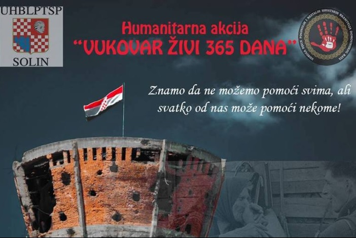 I brodsko-posavski branitelji u akciji 'Vukovar živi 365 dana'
