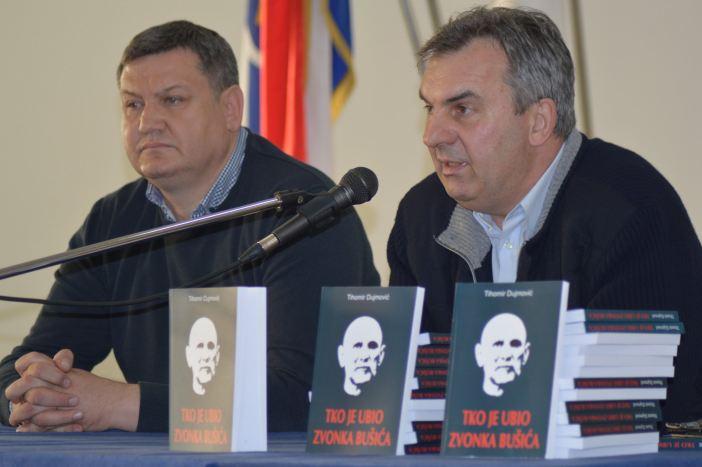 Održana promocija knjige 'Tko je ubio Zvonka Bušića'