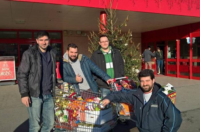 Humanitarni K.L.I.K.A vikend: 'Klikovci' prikupili 6 tisuća kuna i za Božić razveselili deset obitelji