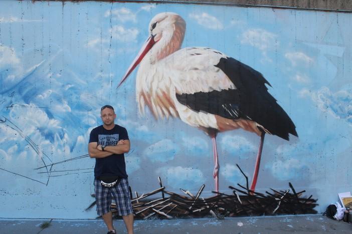 Grafiteri podarili Slavonskom Brodu priču o Malenoj i Klepetanu