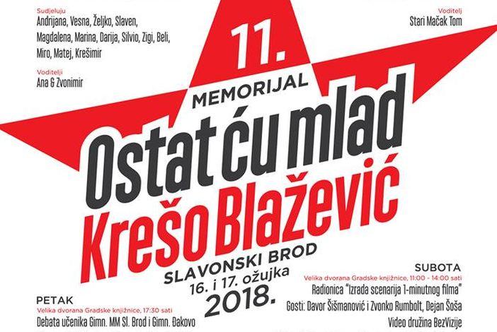 """Pred nama je memorijal """"Ostat ću mlad - Krešo Blažević"""""""
