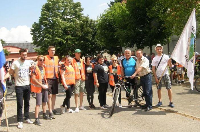 Odaziv iznad svih očekivanja:  više od 150 biciklista u vožnji kroz općinu Oriovac