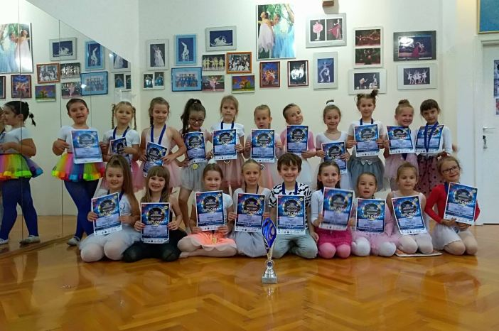 """Brodski leptirići odlični na natjecanju """"European Championship 2018"""