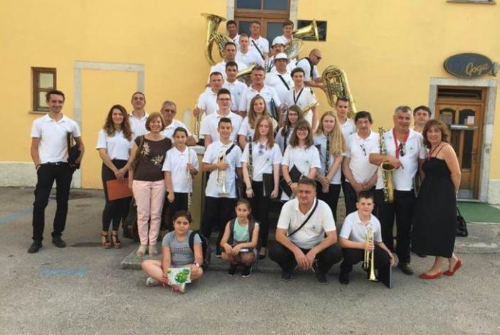 Članovi Gradske glazbe Nova Gradiška drugi na državnom natjecanju puhačkih orkestara Hrvatske
