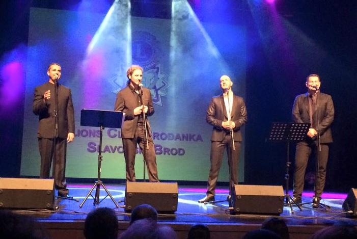 'Četiri tenora' na donacijskom koncertu Lions cluba 'Brođanka'
