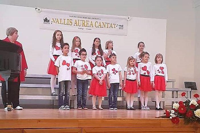 """Dječji zbor """"Nota"""" osvojio srebrnu nagradu na međunarodnom natjecanju zborova"""