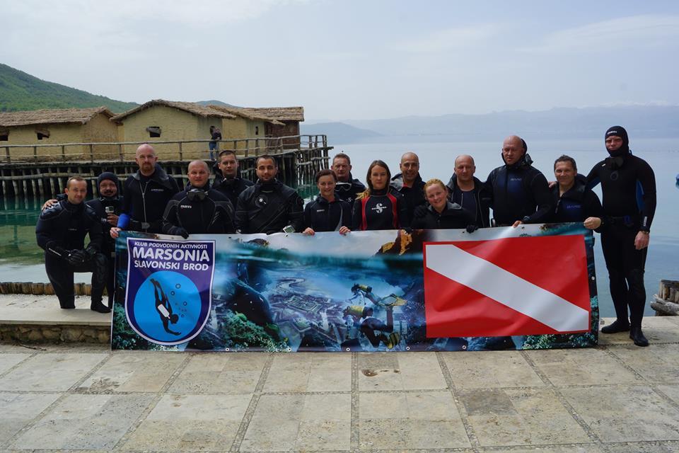 Brodski ronioci prvosvibanjsko ronjenje obavili na Ohridskom jezeru
