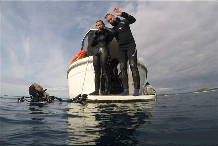 Brodski ronilački klub bogatiji za šest novih ronilaca kategorije R1