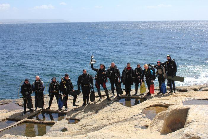Brodski ronioci posjetili Maltu