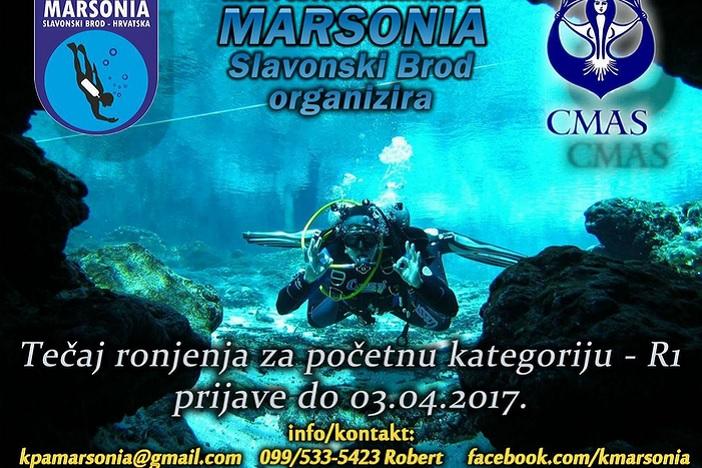 Postani ronioc! KPA Marsonia organizira tečaj ronjenja.