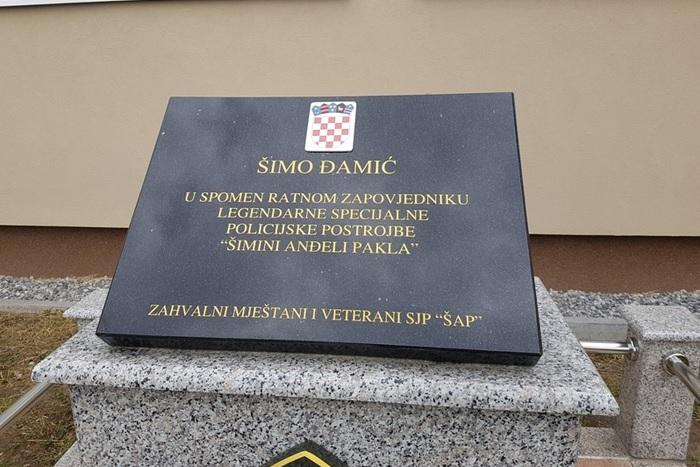 U Gornjoj Bebrini otkrivena spomen ploča legendarnom Šimi Đamiću