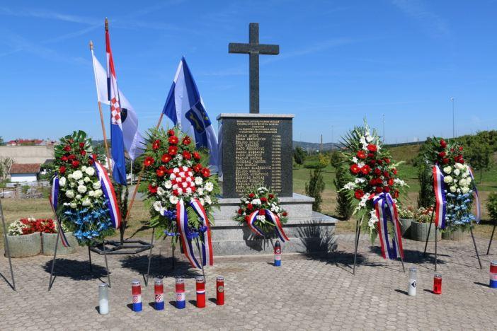 Obilježena 27. obljetnica pogibije pripadnika 105. bjelovarske brigade