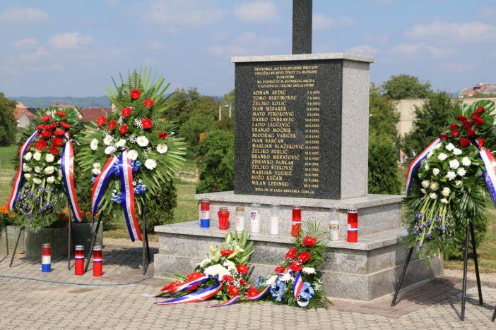 Obilježena 26. obljetnica pogibije pripadnika 105. bjelovarske brigade