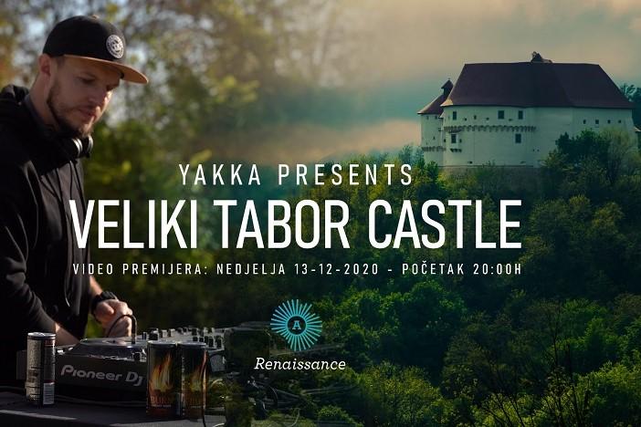 Novogradiški DJ Yakka u video projektu Renaissance iz Dvora Veliki Tabor