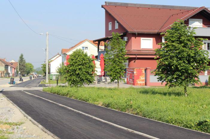 Dovršeni radovi na izgradnji pješačke staze u Branimirovoj ulici i u Ulici Stanka Vraza