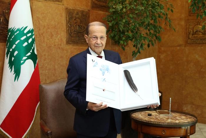 Predsjednik Libanona primio Klepetanovo pero i krenuo rješavanje problema ubijanja roda