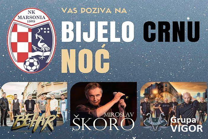 Miroslav Škoro, Vigor i Behar na prvoj bijelo-crnoj noći NK Marsonije