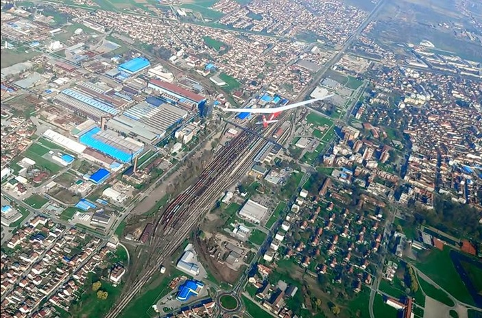 Spektakularne fotografije Slavonskog Broda iz zraka!