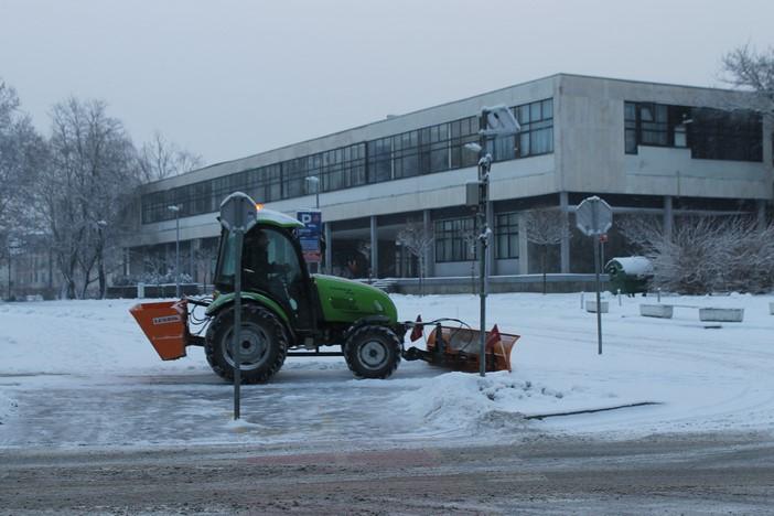 Obavijest građanima; raspored odvoza snijega za 17. i 18. siječnja 2017.