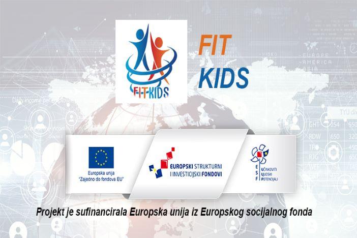 Fit Kids- 1,4 milijuna kuna vrijedan projekt namijenjen djeci