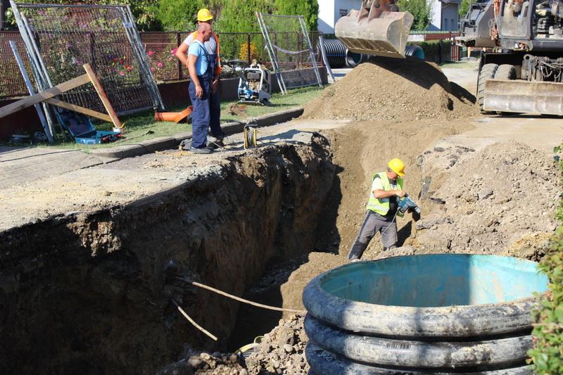 Napreduju radovi na izgradnji i rekonstrukciji sustava vodoopskrbe i odvodnje