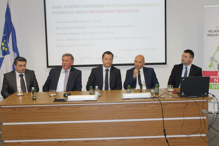 """U organizaciji Lidera u Slavonskom Brodu održan """"investicijski forum Slavonije i Baranje"""""""