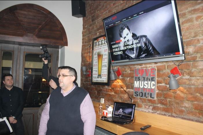 U Beercu održana brodska promocija glazbenog portala Music Box