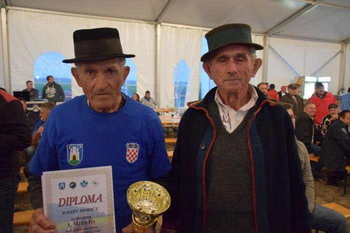 Josip Dorić najbolji hrvatski orač konjima