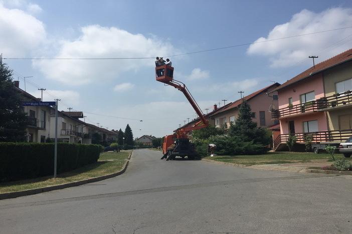 Novakova ulica i Ulica Majke Terezije dobile novu energetski učinkovitu javnu rasvjetu