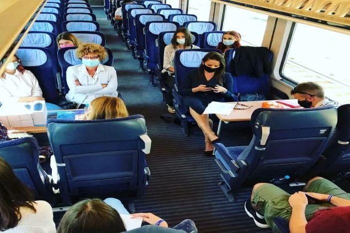 Mladi Brođani o željezničkom prijevozu