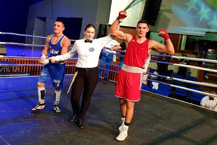 Gabrijel Veočić najbolji boksač u Sarajevu