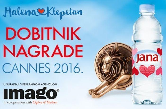 Jana kampanja o Malenoj i Klepetanu donijela prvog reklamnog Oscara Hrvatskoj