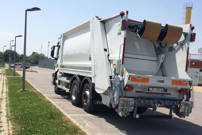 Proljetna akcija odvoza krupnog otpada u 2018. godini Volim svoj grad