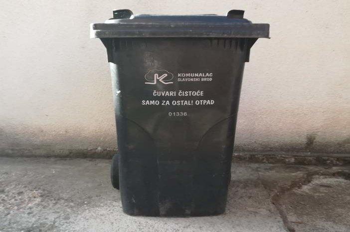 Komunalac poziva građane da izvezu posude za otpad u vrijeme redovnog odvoza