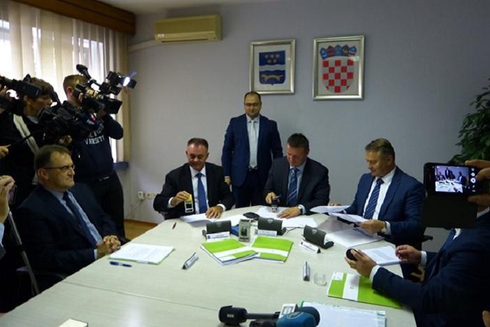 Potpisani ugovori za Regionalni centar gospodarenja otpadom Šagulje