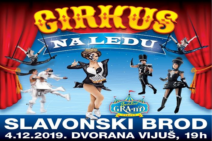 """(VIDEO) """"Grand"""" cirkus na ledu 4. prosinca u Slavonskom Brodu u dvorani Vijuš"""