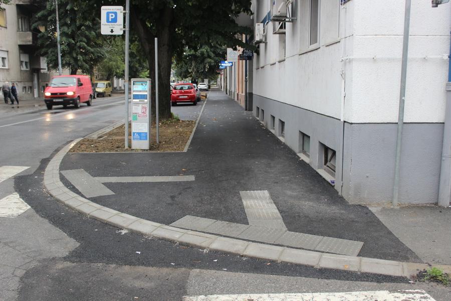 Završene pješačke staze u Gupčevoj i Strossmayerovoj