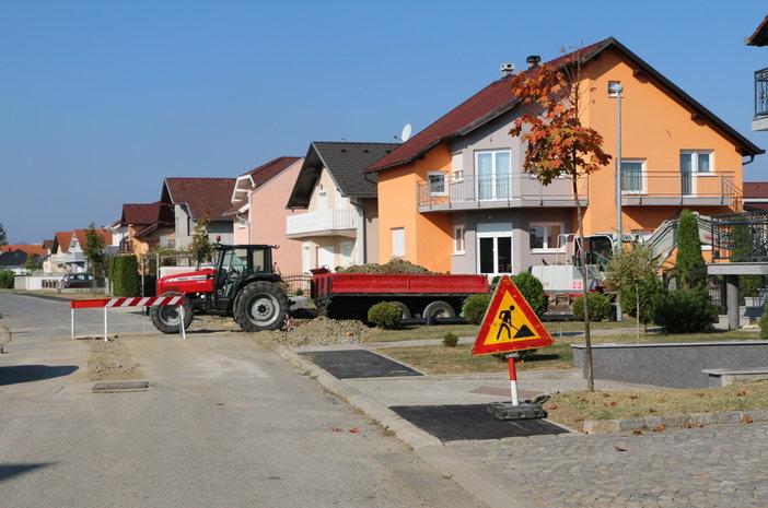 Napreduju radovi na izgradnji spojne ceste između Došenove, Prodanove i Maričevićeve ulice