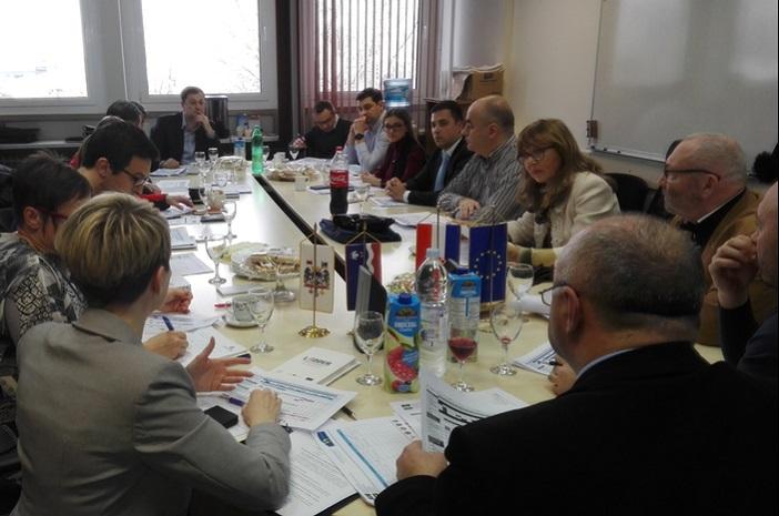 """Održan je prvi sastanak partnerskog tima projekta prekogranične suradnje  JENTRAP"""""""