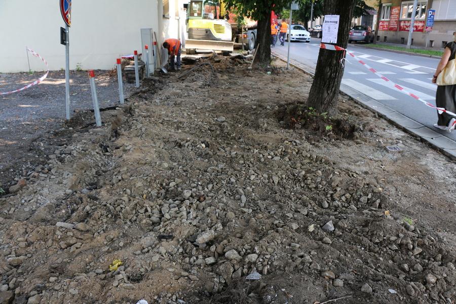 Započela gradnja pješačke staze u Gupčevoj ulici