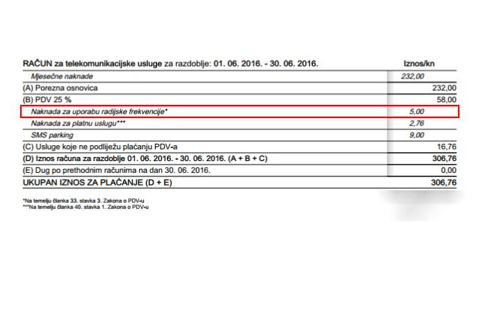 Od danas nema plaćanja 5 kuna naknade za radijsku frekvenciju u sklopu mobilnih pretplata