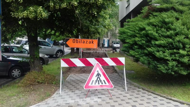 Kreću radovi na izgradnji pješačkih staza u gradu