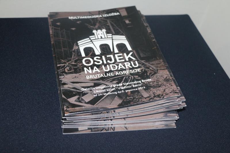 """SLAVONSKI BROD - Otorena multimedijska izložba """"Osijek na udaru brutalne agresije"""""""