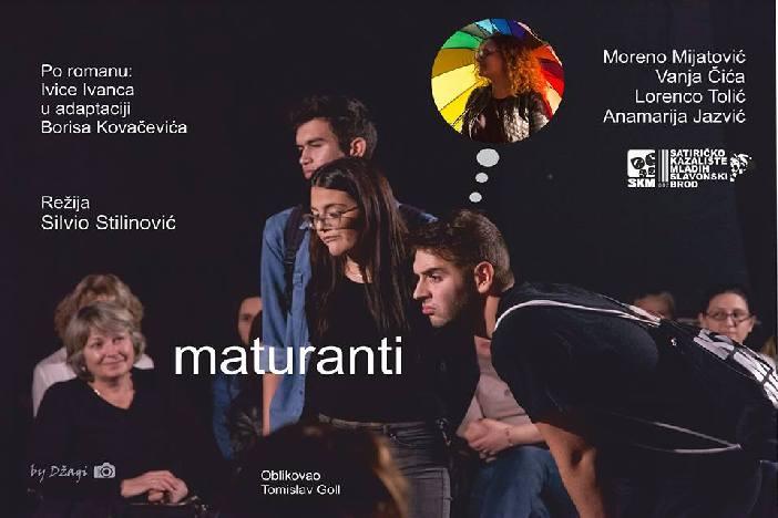 """Predstava """"Maturanti"""" Satiričkog kazališta mladih ponovno u Slavonskom Brodu"""